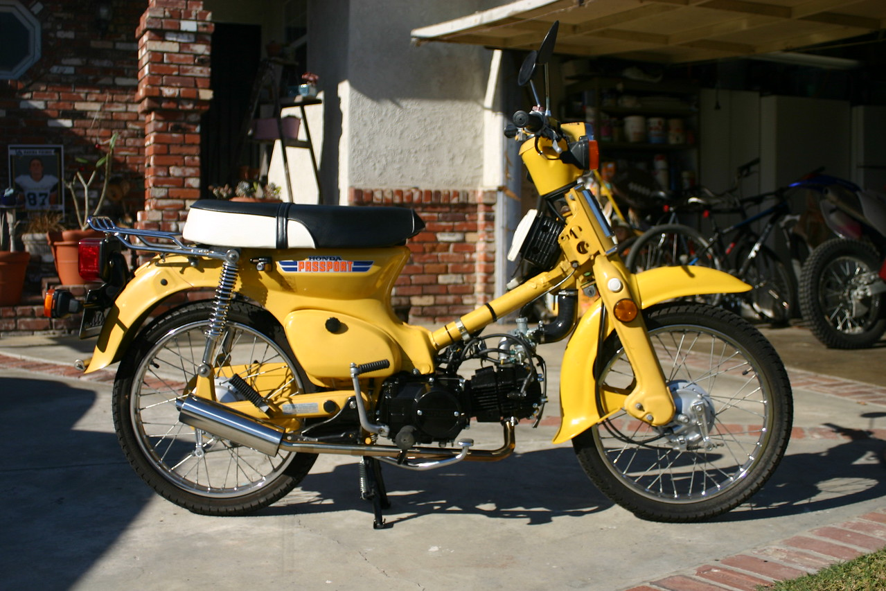 very successful lifan 125cc swap into 1981 honda c70 passport rh advrider  com